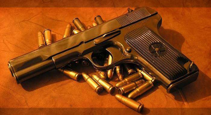 1933 г. (ТТ, Тульский, Токарева, Индекс ГРАУ - 56-А-132) - первый армейский самозарядный пистолет СССР...