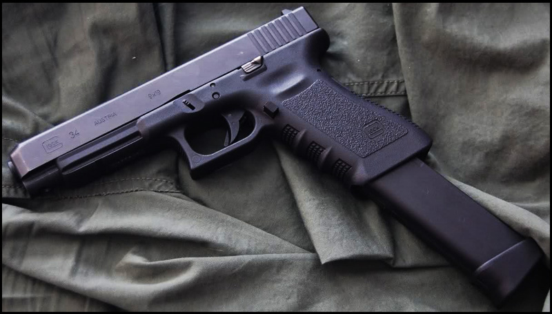 Пистолет Glock 17L,24,34,35 (Tactical)