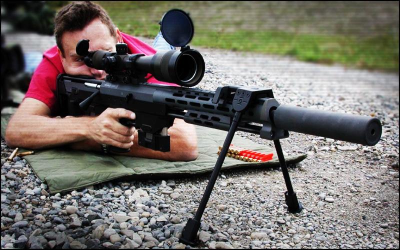 Снайперской винтовки и как ее сделать 243