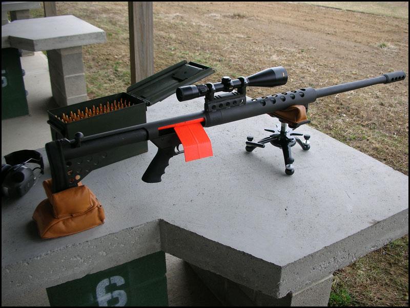 Снайперская винтовка Serbu BFG-50
