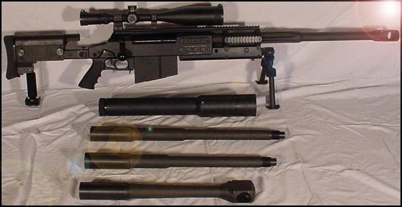 Снайперская винтовка OM 50 Nemesis