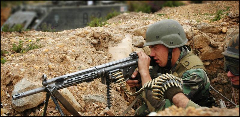 Пулемет HK21 | HK23