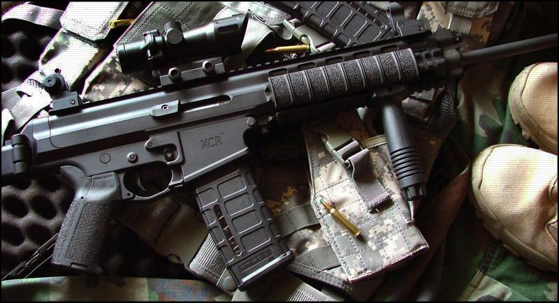 Автомат | Штурмовая Винтовка Robinson Armament XCR