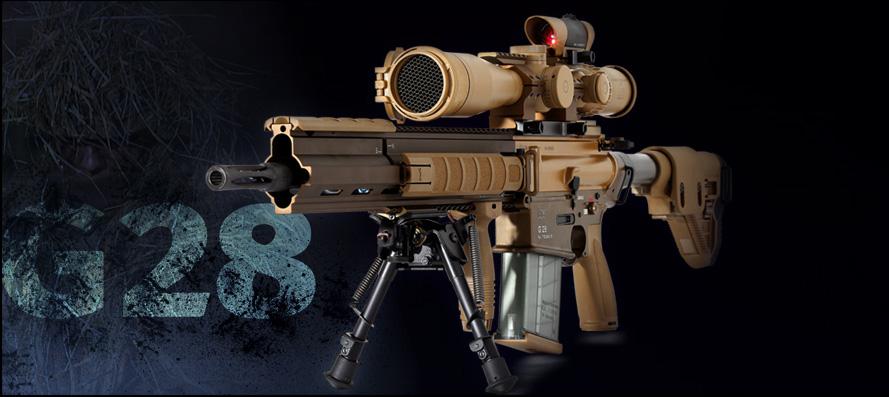 Снайперская Винтовка HK G28