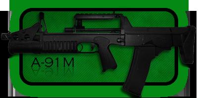 Автомат | Штурмовая Винтовка A-91 | A-91M