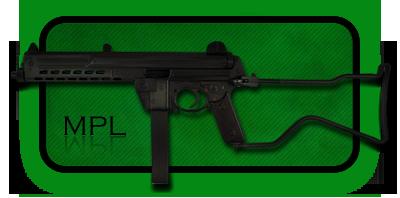 Пистолет-Пулемет Walther MPL | MPK