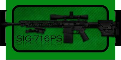Снайперская Винтовка SIG 716