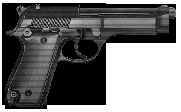 Beretta 92 в разрезе оригинал beretta 92s beretta 92s