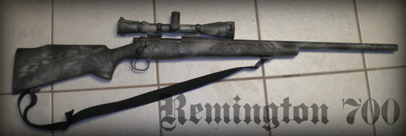 Снайперская Винтовка Remington 700